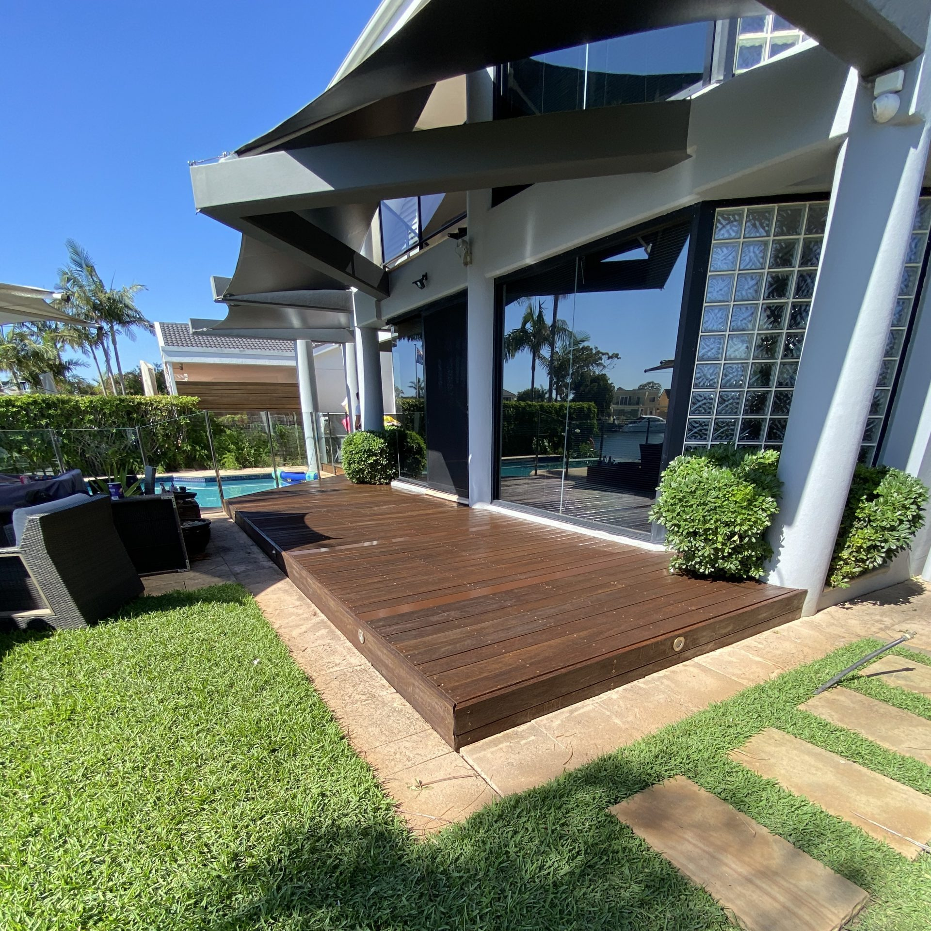 Deck and Carport